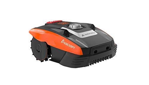 Yard Force Mhroboter COMPACT 400Ri bis zu 400 qm - Selbstfahrender Rasenmher Roboter mit WLAN-Verbindung, App-Steuerung, iRadar...