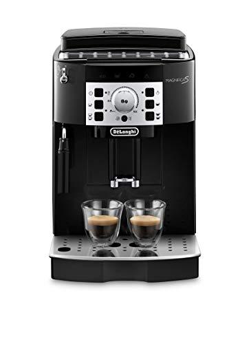 De'Longhi Magnifica S ECAM 22.110.B  Kaffeevollautomat mit Milchaufschumdse, Direktwahltasten & Drehregler, 2-Tassen-Funktion,...