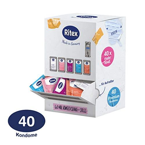 Ritex Kondom-Mix-Sortiment, Mehr Auswahl Und Mega-Spa, 40 Stck, Made In Germany