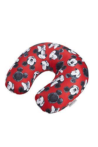 Samsonite Global TA Disney Microbead Reisekissen, 32 cm, rot (Mickey/Minnie Red)