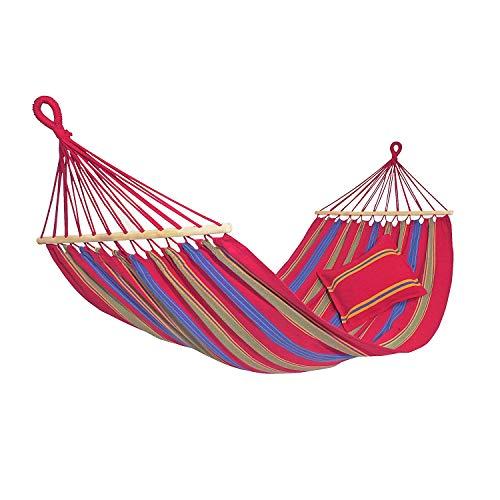 AMAZONAS Hngematte Aruba Cayenne wetterfest und UV-bestndig 210 x 120cm bis 180kg merhfarbig