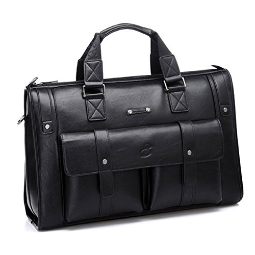 Vintage Aktentasche Leder Gracosy Businesstasche Herren Gro Arbeitstasche Damen 15 Zoll Laptoptasche Lehrertasche Unitasche fr...