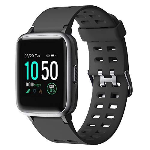YAMAY Smartwatch,Fitness Armband Uhr Voller Touch Screen Fitness Uhr IP68 Wasserdicht Fitness Tracker Sportuhr mit Schrittzhler...