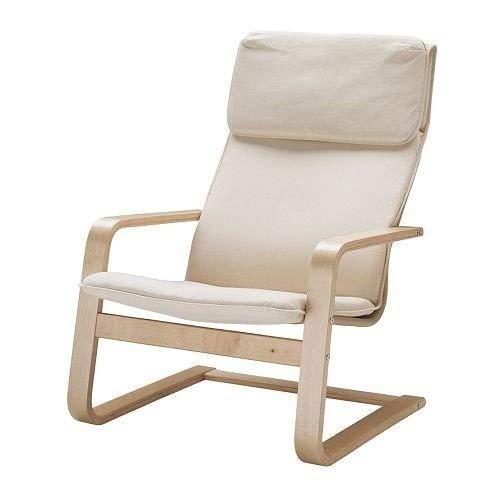 IKEA Sessel Pello fr Wohnzimmer, Relaxsessel, Farbe: Holmby Ecru, Breite: 67 cm, Tiefe: 85 cm, Hhe: 96 cm