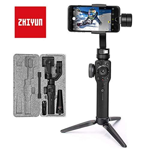 Zhiyun Smooth 4 Smartphone Gimbal Handy Stabilisator 3-Achsen Handheld Stabilizer bis zu 210g fr iPhone 11 Pro (Kein Max) X XS Max...